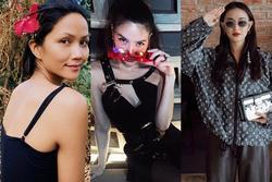 Sao Việt 'lên đồ' đầu năm 2020: H'Hen Niê giản dị chân chất, Đỗ Mỹ Linh đầy ắp hàng hiệu