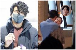 Ngô Kỳ Long cảm thấy không hài lòng khi Lưu Thi Thi quay cảnh hôn bạn diễn, tức tốc đến phim trường