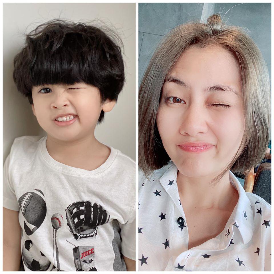 Ngọc Lan phản ứng khi con trai được nhận xét là bản sao của chồng cũ Thanh Bình-1
