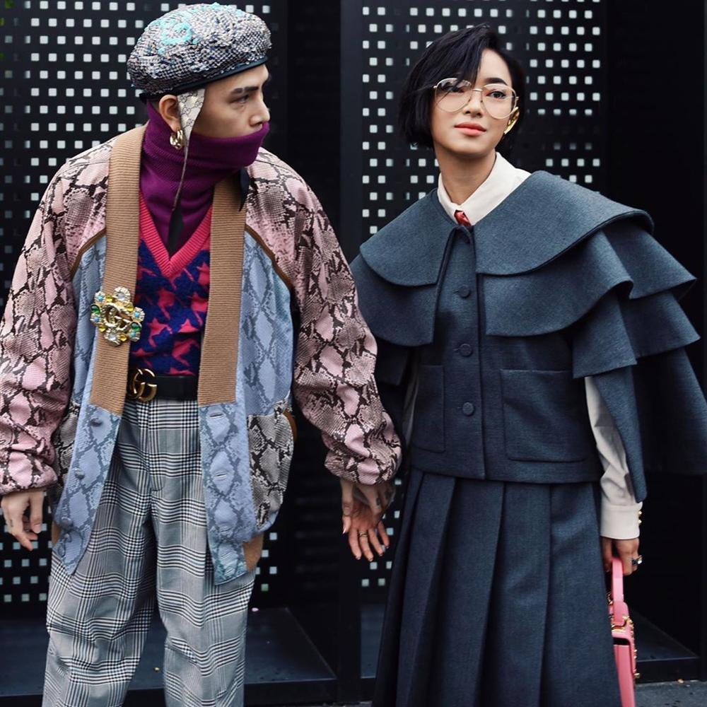Châu Bùi - Decao luôn được khen mặc đẹp khi sánh bước bên nhau-3