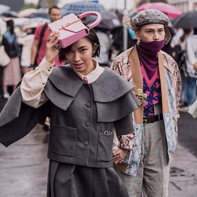 Châu Bùi - Decao luôn được khen mặc đẹp khi sánh bước bên nhau-4