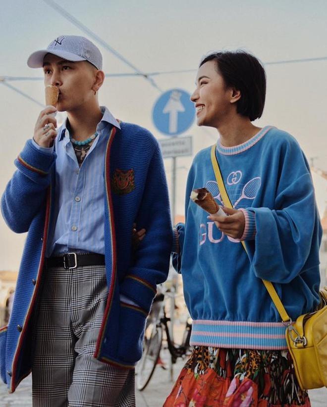 Châu Bùi - Decao luôn được khen mặc đẹp khi sánh bước bên nhau-8
