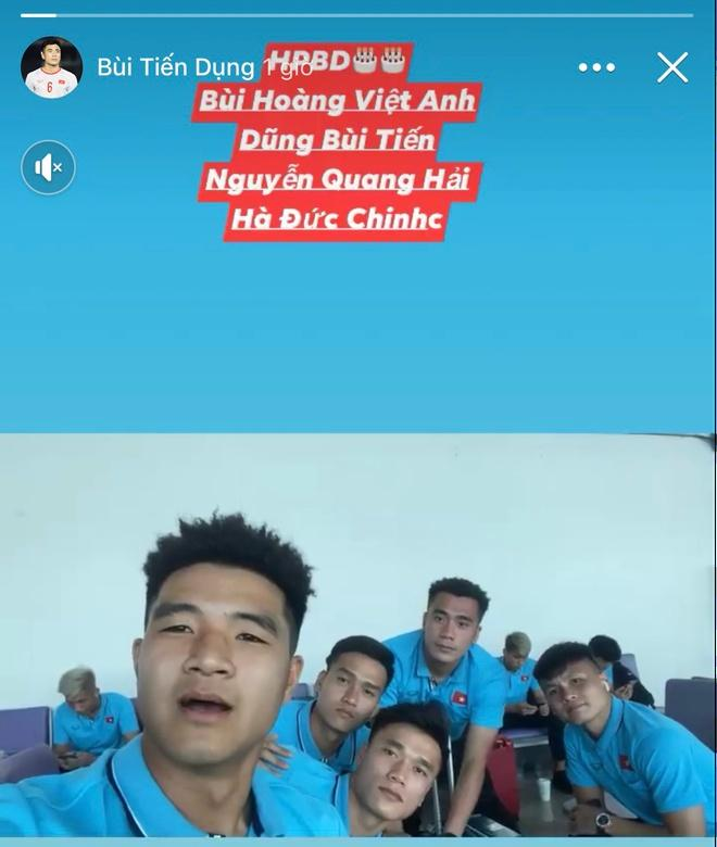 Đức Chinh, Đình Trọng và dàn cầu thủ U23 check-in sang Thái Lan-3