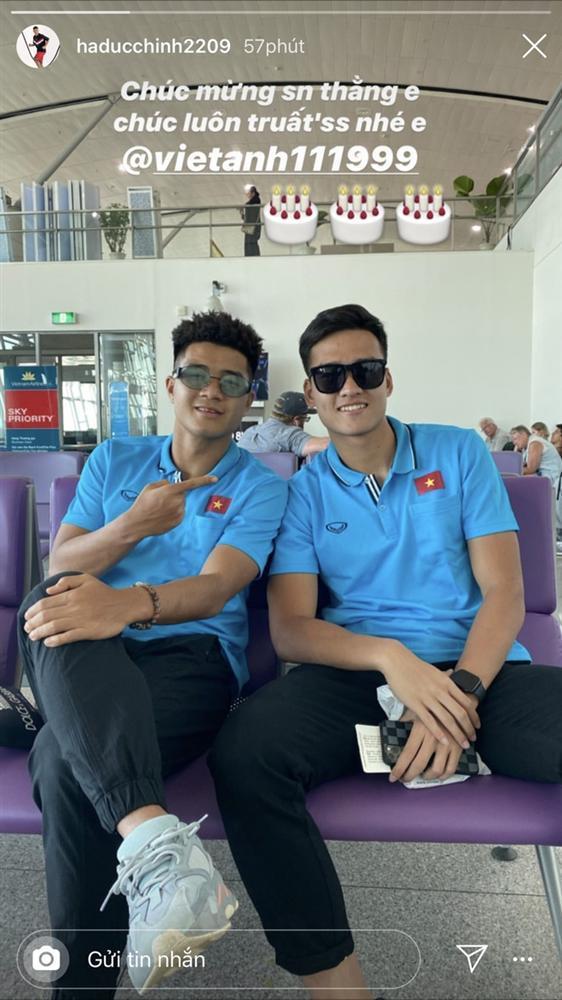 Đức Chinh, Đình Trọng và dàn cầu thủ U23 check-in sang Thái Lan-4