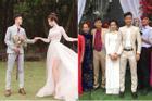 Khoe ảnh cưới siêu đẹp, Nhật Linh bị dân tình soi như người khổng lồ khi sánh bước bên Phan Văn Đức