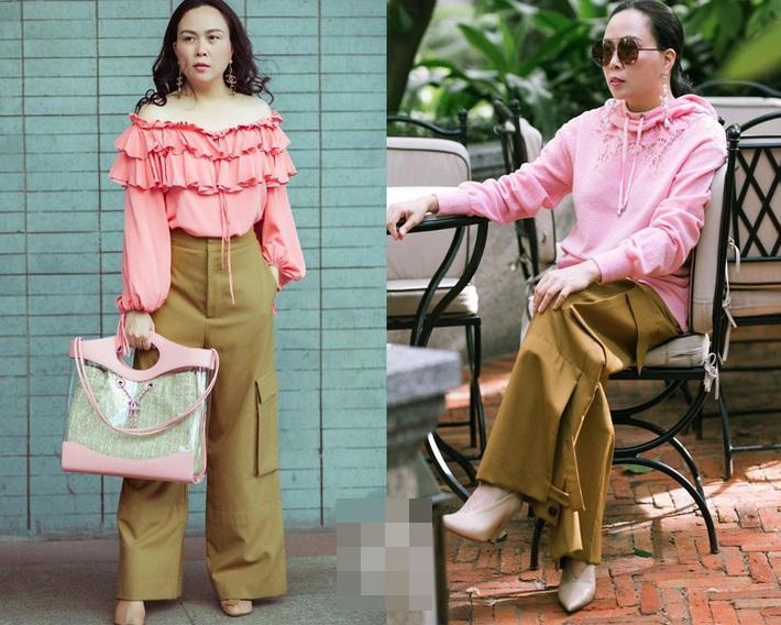 Sắc hồng ngọt ngào là thế mà hễ Phượng Chanel mặc là y như rằng bầu trời thời trang sụp đổ-7