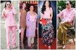 Sắc hồng ngọt ngào là thế mà hễ Phượng Chanel mặc là y như rằng 'bầu trời thời trang sụp đổ'