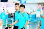 Trước trận đấu đầu tiên VCK U23 châu Á, clip Đình Trọng cùng đồng đội quẩy banh nóc nhà-2