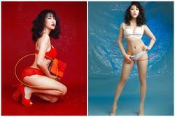 Phi Thanh Vân chào xuân bằng bộ ảnh nội y nóng bỏng nhưng rõ rành rành photoshop quá tay