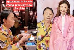 Hết huy động fans, đến bà ngoại lớn tuổi cũng được Midu tận dụng để cày view cho MV nói về tình cũ