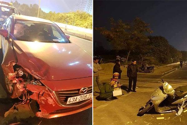 Tài xế nghi say rượu lái xe tông chết cô giáo trường chuyên ở Hà Nội-1
