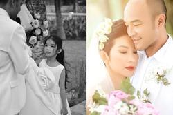 Hôn lễ xong xuôi, ông xã Xuân Lan gửi lời yêu thương tới con riêng của vợ: 'Ba có trách nhiệm đem hạnh phúc cho con'