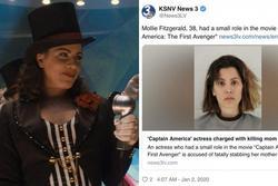 Chấn động: Nữ minh tinh 'Captain America' bị bắt khẩn cấp vì đâm chết mẹ ruột