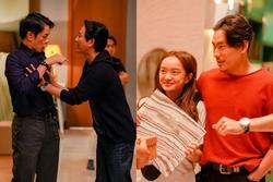 Phim 'hài đen' đầu tiên của Việt Nam khai máy: Hứa Vĩ Văn sàm sỡ Thái Hòa, Kiều Minh Tuấn tình cảm Kaity Nguyễn