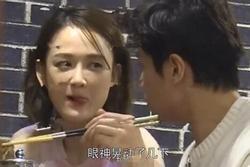 40 tuổi quan trọng gì, chỉ cần yêu bạn trai kém 9 tuổi, Trần Kiều Ân vẫn e ấp khác nào thiếu nữ đó thôi!