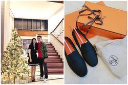 Duy Mạnh sở hữu bộ sưu tập hàng hiệu, có đôi giày giá gần 1.000 USD