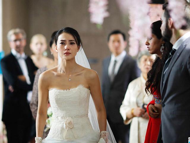 Giữa đám cưới, tình cũ của chồng vác bụng bầu đến ăn vạ, cô dâu có cách hành xử làm cả hội hôn tán thưởng-2