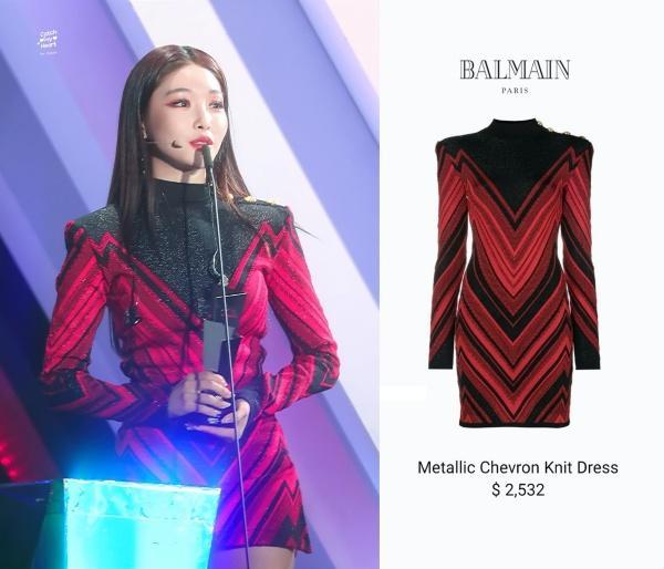Là cây rụng tiền của công ty, Chungha gây choáng với loạt outfit không giá nghìn đô thì cũng đính đá lồng lộn-10