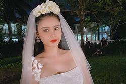 Trương Quỳnh Anh đăng ảnh cô dâu, câu chuyện phía sau gây xúc động