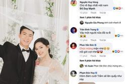 Phan Văn Đức trêu Duy Mạnh nối gót mình cưới vợ sớm