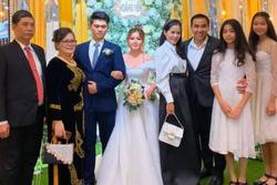 Dự đám cưới, 2 con gái Quyền Linh chiếm spotlight vì xinh hơn cả cô dâu