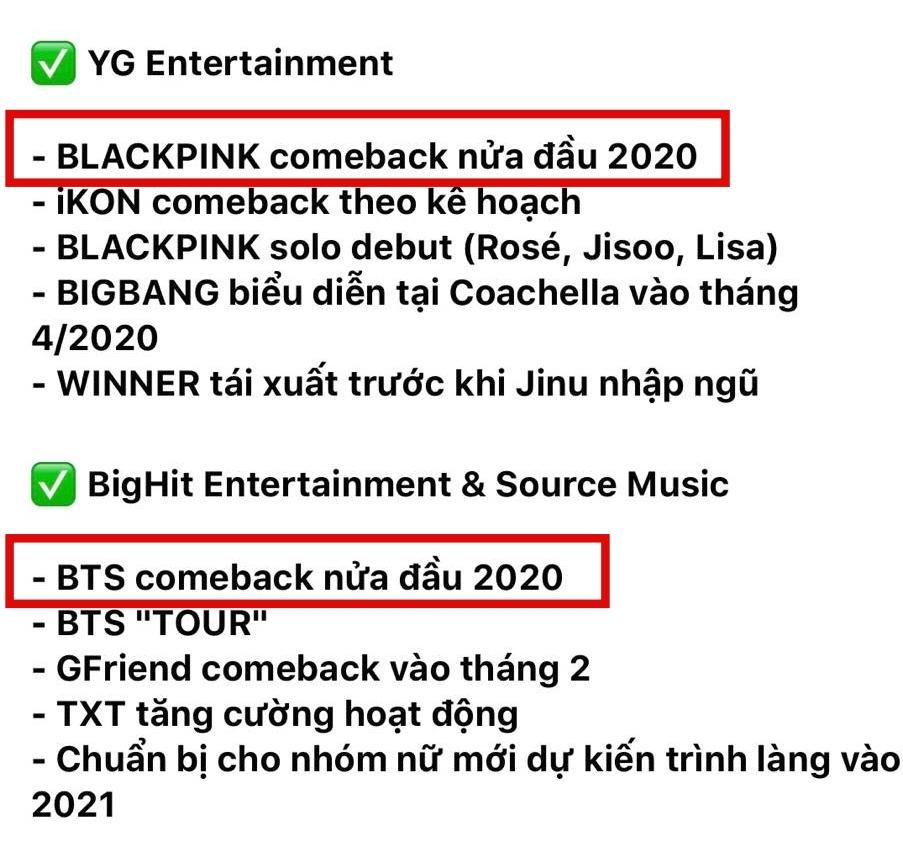 Fan mừng rơn khi truyền thông Hàn tung lịch trình dày đặc của BLACKPINK-3