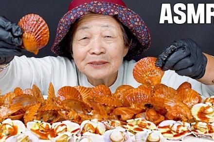 Quay vlog ăn uống thả ga, cụ bà 82 tuổi người Hàn Quốc gây sốt cộng đồng mạng