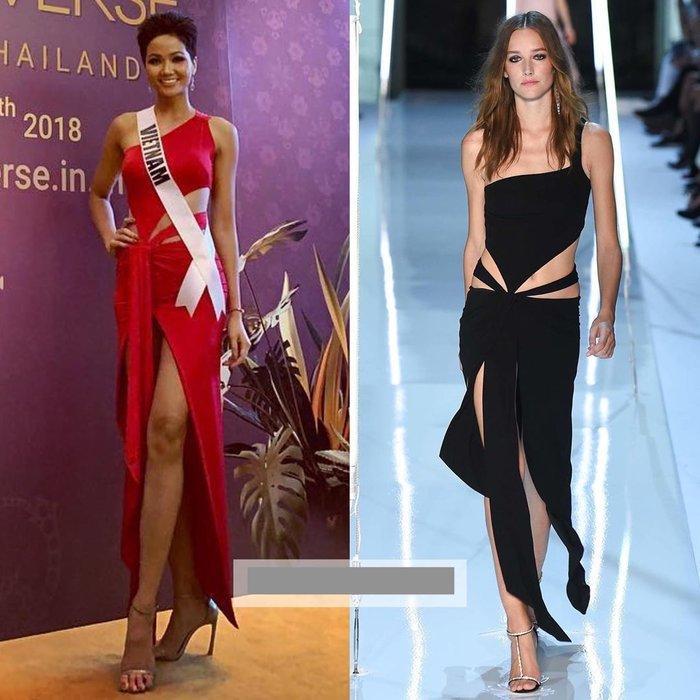 Khổ như HHen Niê đẹp ngời ngời mà vẫn dính án váy đạo nhái nhiều nhất Vbiz năm 2019-5