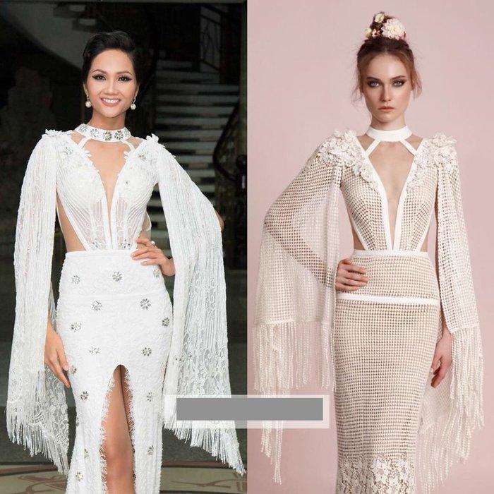 Khổ như HHen Niê đẹp ngời ngời mà vẫn dính án váy đạo nhái nhiều nhất Vbiz năm 2019-6