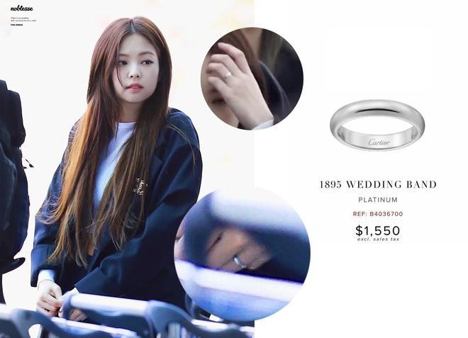 Jennie (BlackPink) tặng nhẫn Cartier giá hơn 1.200 USD cho Jisoo-2