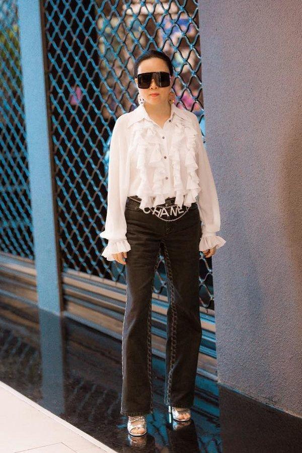 Phượng Chanel lại tự dìm hàng vì yêu thích trang phục lùng bùng như chú hề-9
