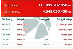 Người trúng giải Vietlott 111 tỷ đồng đã mua 4,2 triệu tiền vé số