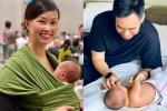 Lịm tim với khoảnh khắc ông xã bên con gái mới sinh, 'Shark' Linh ưu ái phong cho chồng vị trí cực cao