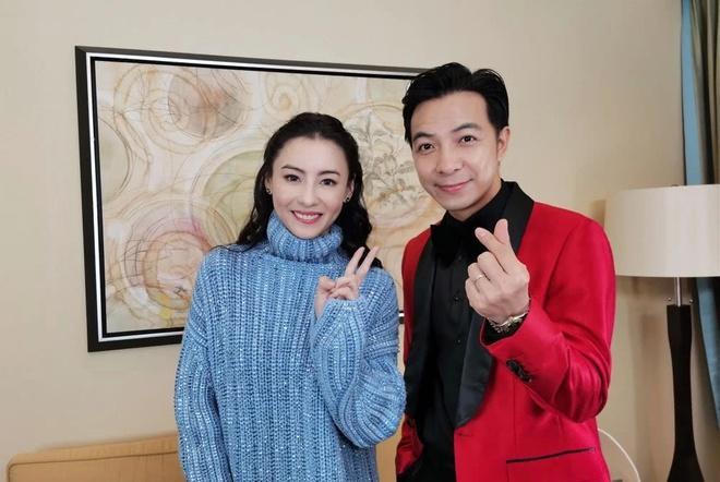 Trương Bá Chi khoe nét trẻ trung ở tuổi 40-1