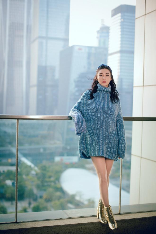 Trương Bá Chi khoe nét trẻ trung ở tuổi 40-4