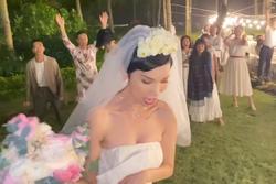 Cười lộn ruột với màn tung hoa trong đám cưới Xuân Lan