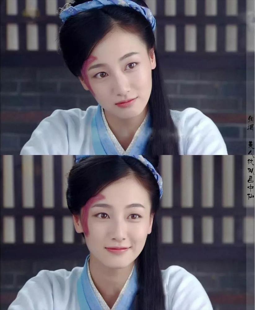 Những vết sẹo hình thù kỳ dị trên mặt các mỹ nhân Hoa ngữ trong phim cổ trang-10