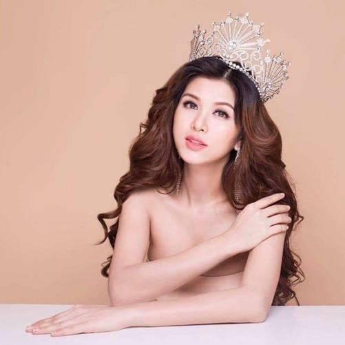 Mỹ nữ Vũng Tàu đăng quang Hoa hậu ở Hàn, không ngờ trong bụng đang mang thai con thứ 6-1