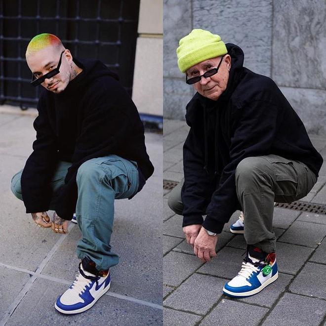 Cụ ông sở hữu toàn giày hiếm, ăn mặc đẹp không kém giới trẻ-1
