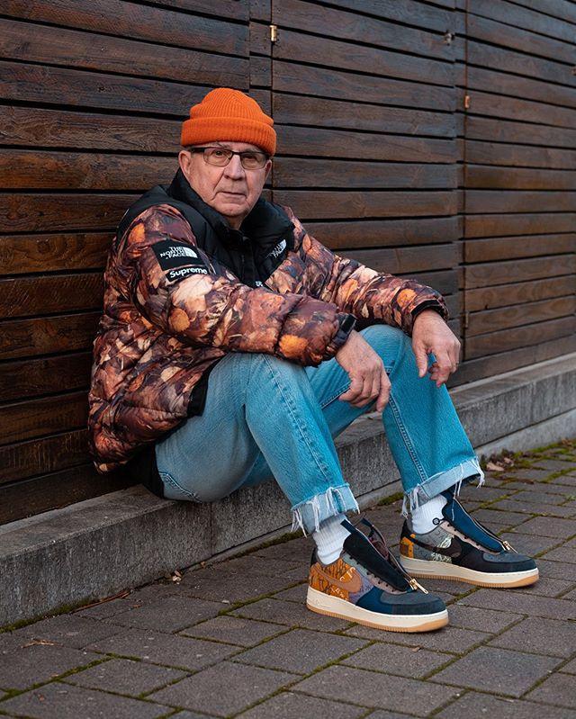 Cụ ông sở hữu toàn giày hiếm, ăn mặc đẹp không kém giới trẻ-4