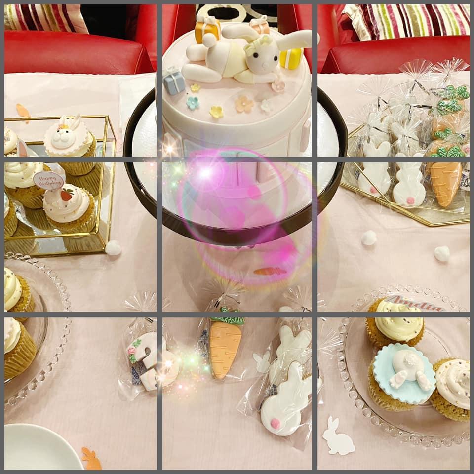 Lâm Tâm Như tự tay chuẩn bị tiệc sinh nhật cho con gái, không gian giản dị nhưng đáng yêu vô cùng-5