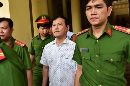 Nguyễn Hữu Linh thi hành án tù ở Đà Nẵng