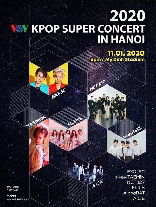 BTC Kpop Super Concert phản hồi tin đồn đòi fan EXO nộp 1 tỷ để mang xe đồ ăn vào SVĐ Mỹ Đình-1