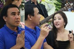 Quyền Linh, Thúy Nga hát tiễn đưa nghệ sĩ Chánh Tín trong ngày viếng cuối cùng