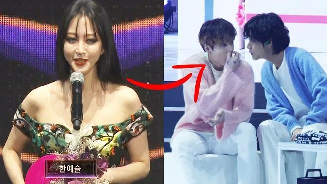 Jungkook BTS bị chỉ trích vì hành động thiếu tôn trọng Han Ye Seul-1