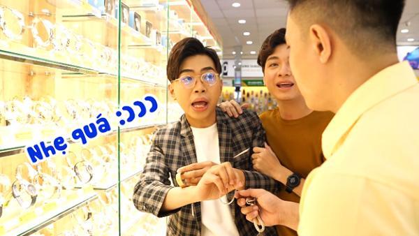 Thánh chửi Minh Dự không ngừng tạo nghiệp khi đi mua đồng hồ-3