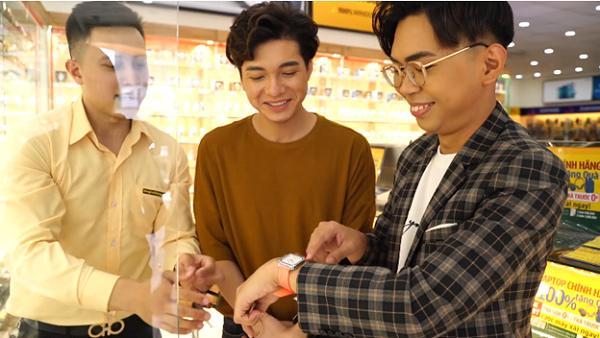 Thánh chửi Minh Dự không ngừng tạo nghiệp khi đi mua đồng hồ-4