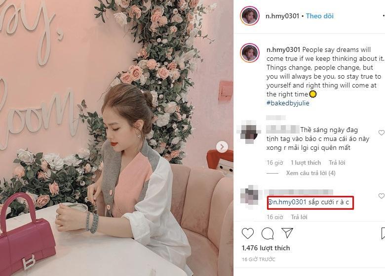 Phản ứng của cô chủ tiệm nail giữa tin đồn qua tết sẽ tổ chức đám cưới với Quang Hải-4