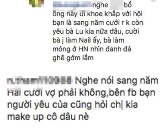 Phản ứng của cô chủ tiệm nail giữa tin đồn qua tết sẽ tổ chức đám cưới với Quang Hải-2