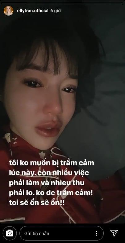 Elly Trần liên tục treo status u ám, ẩn ý chia tay ông xã ngoại quốc?-4